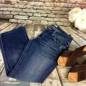 Big Star Casey K Low Rise Boot Fit Jeans